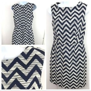 NWOT The limited Chevron dress